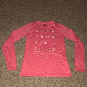 Abercrombie Kids Pink Shirt